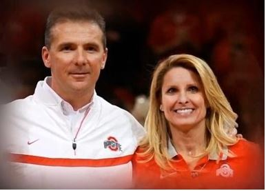 Shelley Meyer with husband Urban Meyer