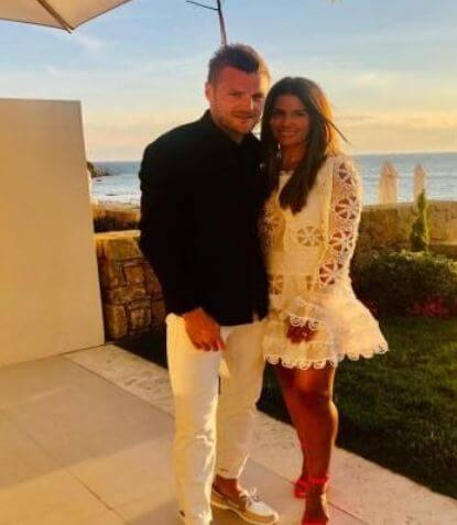 Emma Daggett ex husband Jamie Vardy with his wife spending quality time together.