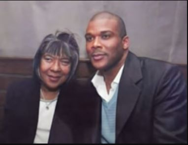 Emmbre Perry's mother Willie Maxine Perry and brother Tyler Perry