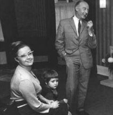 Jim Mac with his second wife Angela Lucia Williams and daughter Ruth McCartney