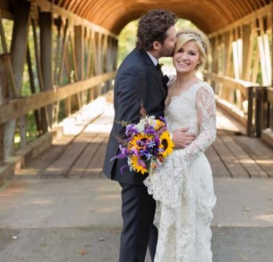 Jeanne Clarkson's daughter Kelly Clarkson with her ex-husband Brandon Blackstock