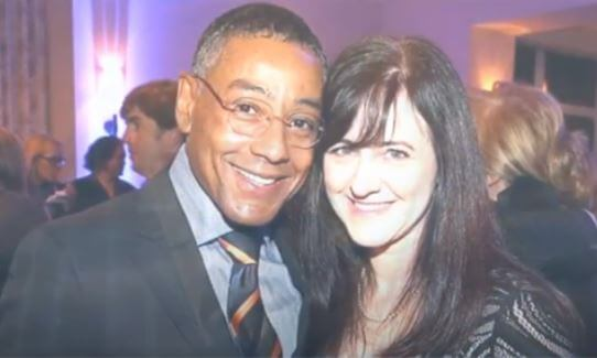 Joy McManigal with her ex husband Giancarlo Esposito.