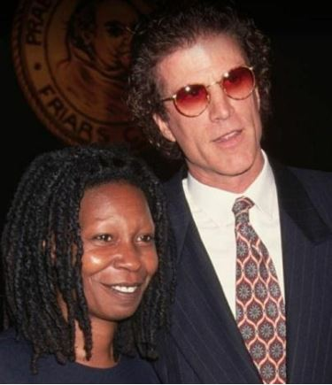 Alvin Louise Martin's ex-spouse Whoopi Goldberg with Ted Danson at an event