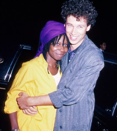Alvin Louise Martin's ex-wife Whoopi Goldberg with her second husband David Claessen