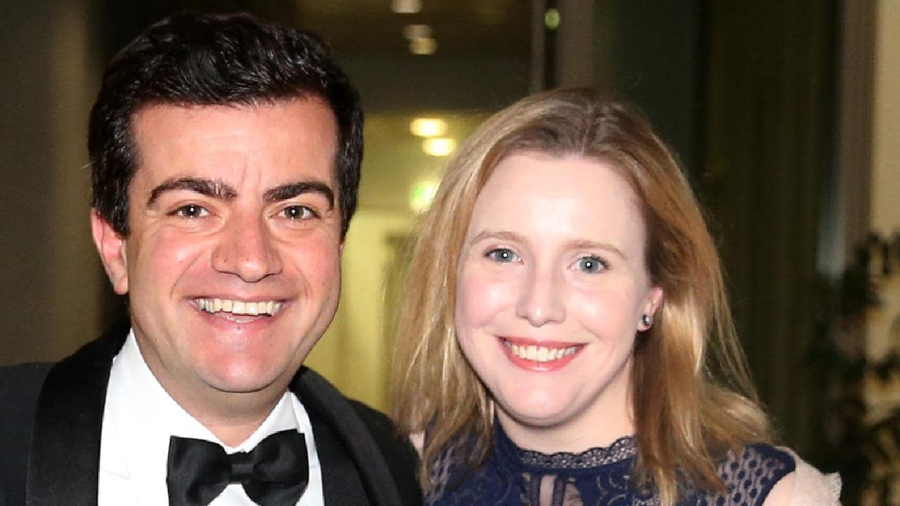 Image result for Sam Dastyari and Helen Barron