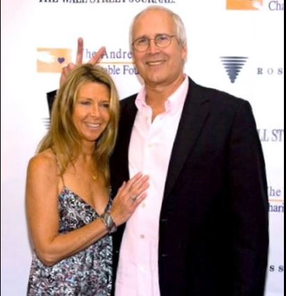 Image result for Chevy Chase spouse